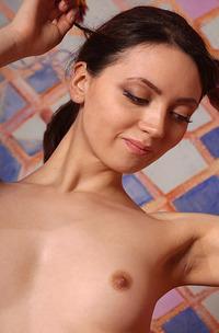 Hot Russian Brunette Teen Abigalle