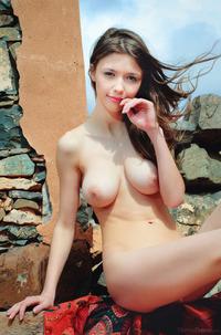 Mila Azul Stripping On Vacation