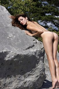 Vani L Nude Outdoors-07