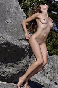 Vani L Nude Outdoors-11