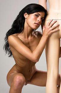 The Sexy Mirta Posing Naked-14
