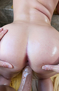 Harley Jade Oiled Her Ass And Get Butts Fucked