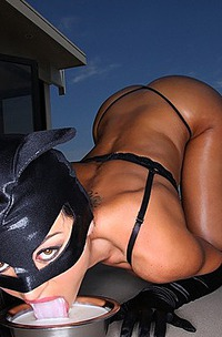Hungry Naked Catwoman