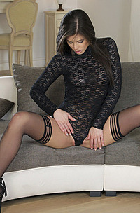 Caprice Moans To The Pleasure Of Stimulating Her Pussy-02