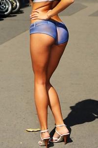 Blue Angel In Public