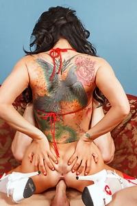 Romi Rain Hot Nurse Cures Specifically