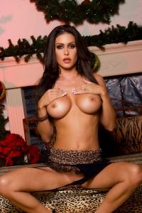 Jessica Jaymes In Hot Leopard Lingerie
