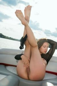 Emilia On A Boat Trip