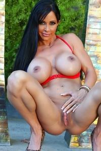 Jewels Jade Red Bikini 2
