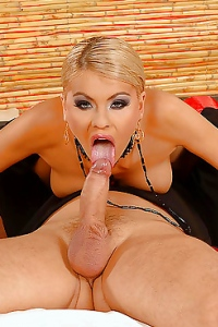 Hot Hardcore Sex And Cum Gargling