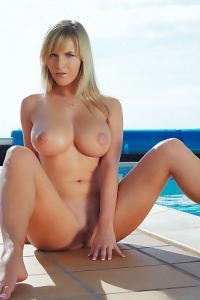 Chikita Nude Poolside