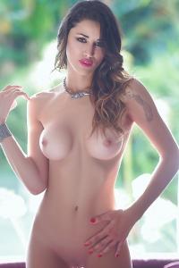 Chic Argentinean Model Vanessa Alvar Has Firm Body