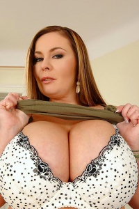 Thick Slut Constance Devil Presents Her Really Huge Boobs