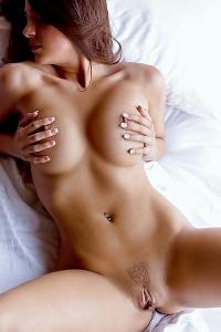 Abigail Mac Presenting Generous, Bountiful Breasts