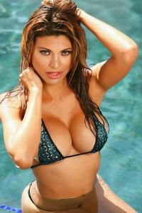Claudia Skimpy Bikini