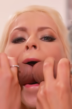 Busty Milf Vittoria Dolce Banged By Three Cocks At Once