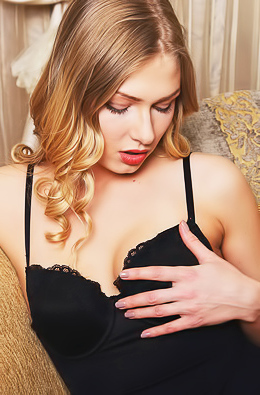 Luscious Lucy Heart Looks As Seductive