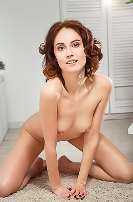 Sabrina G Shy Teen Poses Nude