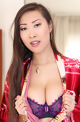 Asian Porn Star Sharon Lee Posing
