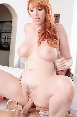 Redhead Pornstar Lauren Phillips Hardcore