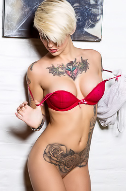 Kleio Valentien Rocks With Her Boobs