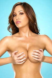 Alana Strips And Show Big Tits