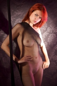 Busty redhead free nude pictures
