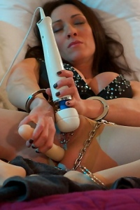 Miss Hybrid Awakes With A Dildo Up