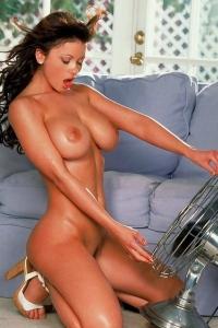 Big Breasted Bombshell Veronica Zemanova Exposing Her Tits
