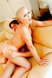 Lisa Demarco Busty Blonde Babe Nailed Hard