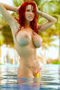 Bianca Beauchamp Lime Bikini