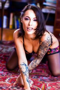 Nikita Bellucci In Sexy Lingerie