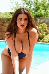 Charlotte Springer Shows Her Fantastic Breasts