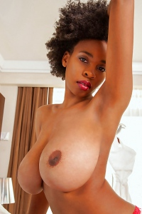 Black Nympho Julie Anderson In Big Busty Encore