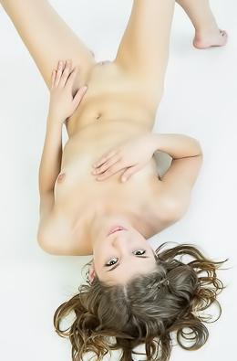 Berka Poses Naked In Casting