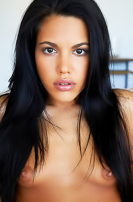 Hot Brunette Angel Apolonia Lapiedra