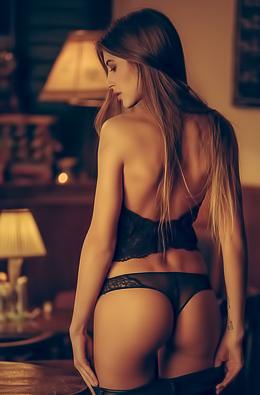 Taya Vais Stripping Her Panties