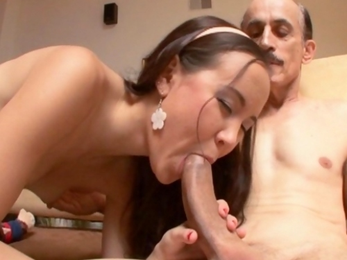 Amai Liu Fucks Old Guy
